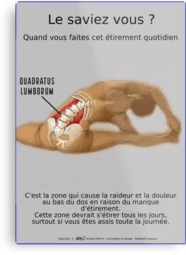 Planches Musculo-squelettique des positions de Yoga - N°28