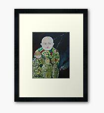 Babooshka Framed Print