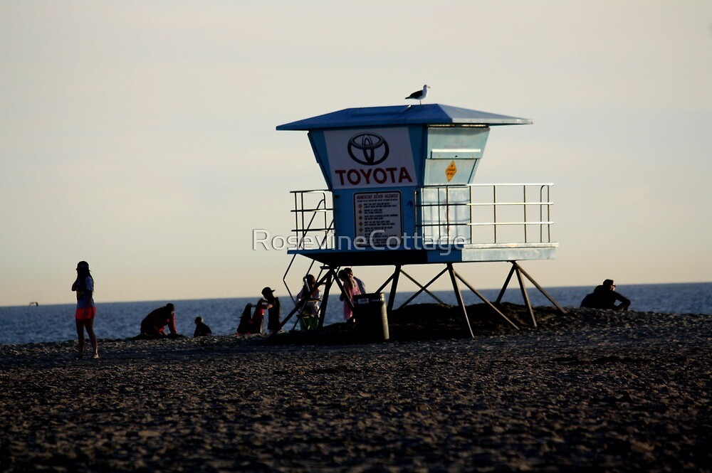 Life Guard Off Duty  by RosevineCottage