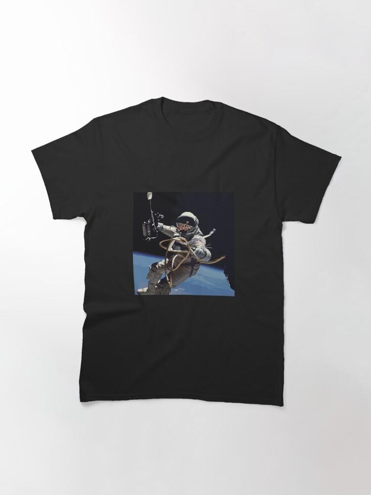 Alternate view of Astronaut Ed White's Spacewalk Colour Vector Art Classic T-Shirt