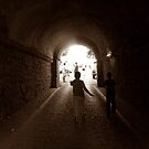 Walking to out of tunnel. by rasim1