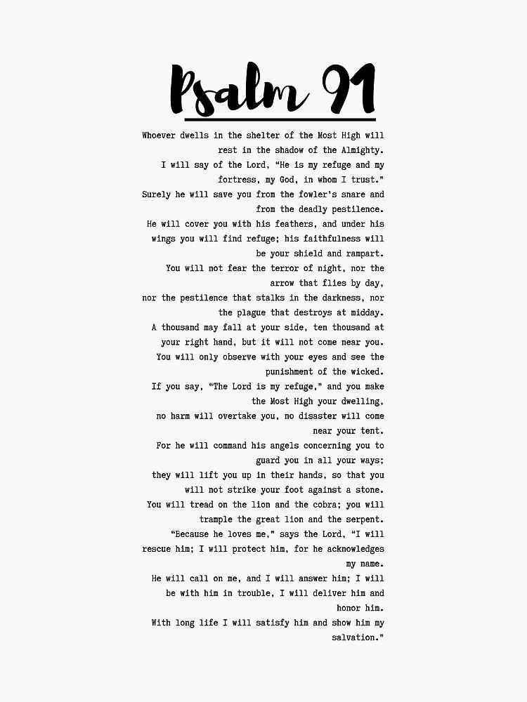 psalm 91 by DreezyJ