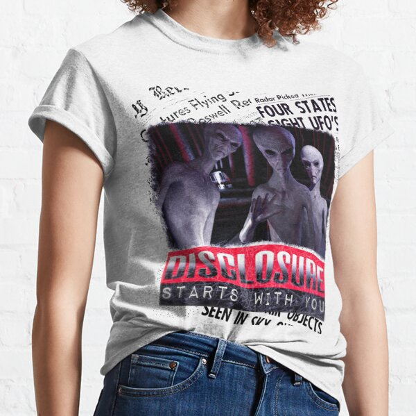 Aliens UFO Disclosure Classic T-Shirt