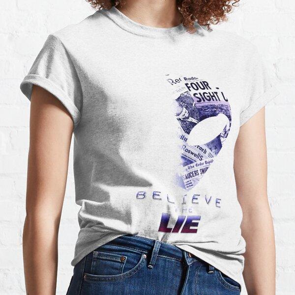 Beileve the Lie Alien UFO Disclosure Classic T-Shirt