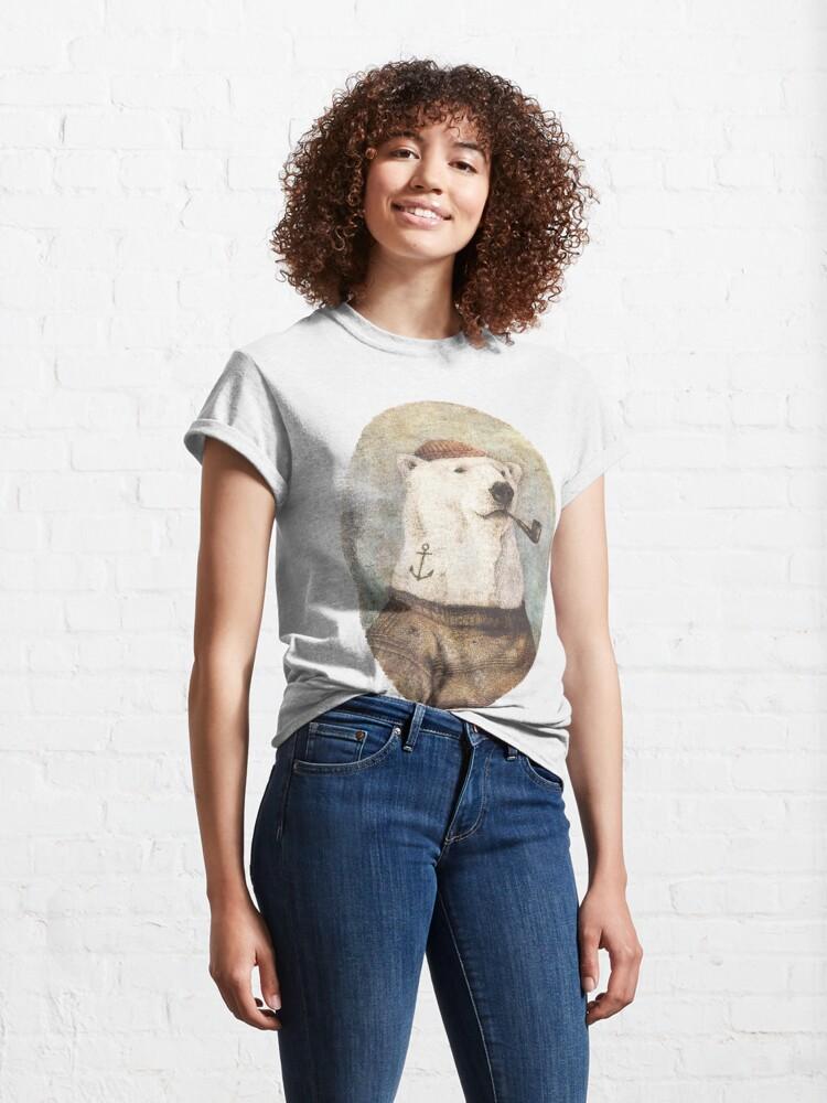 Alternative Ansicht von Auf die Küste Classic T-Shirt
