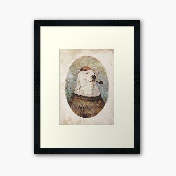 Onto the Shore Framed Art Print