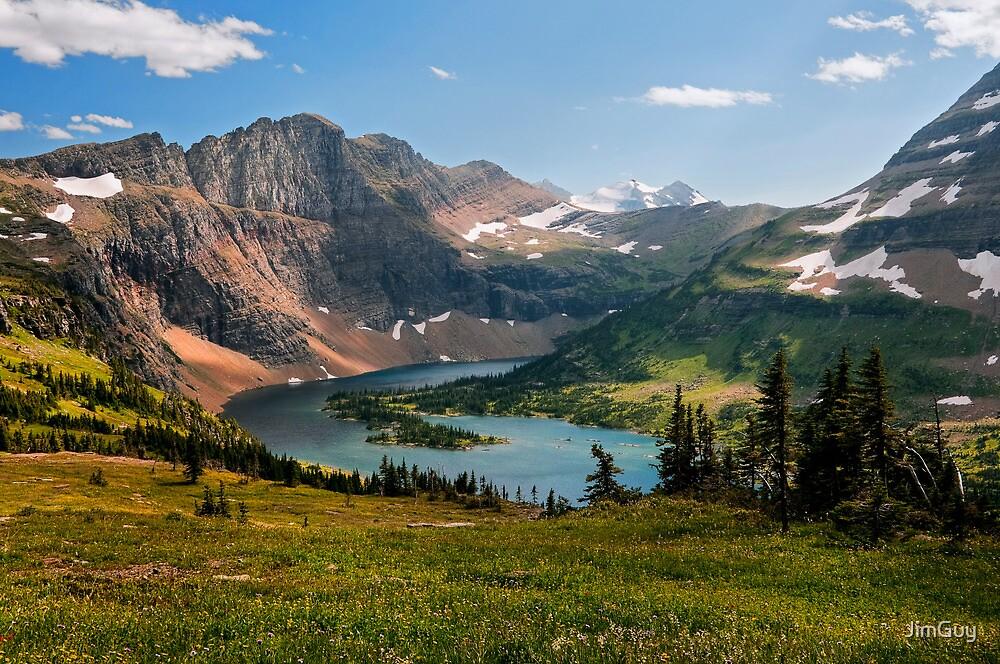 Hidden Lake by JimGuy