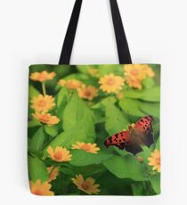 Question Mark in the Garden Tote Bag