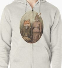 The Foxes Zipped Hoodie