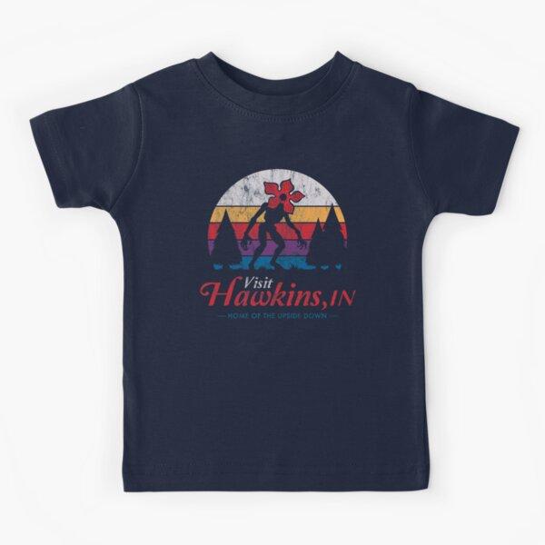 Visita Hawkins - Vintage apenado - Demogorgon - Cosas extrañas Camiseta para niños