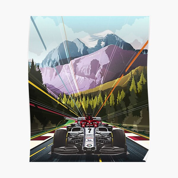 Alfa Romeo Österreich GP Poster Poster