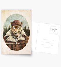 Lumberjack Postcards