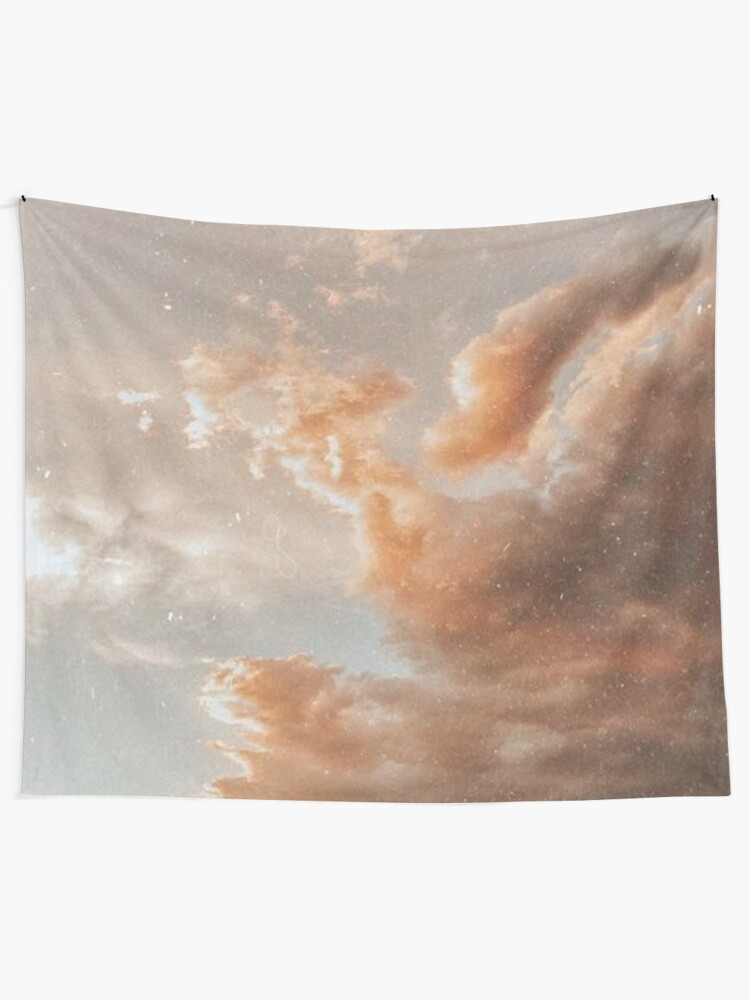 Alternate view of angelic sky Tapestry