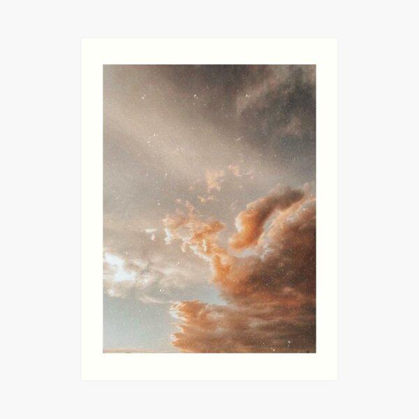 angelic sky Art Print