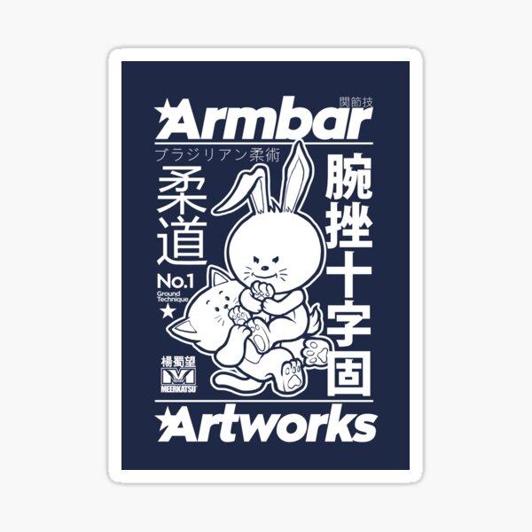 Armbar Artworks Sticker