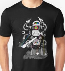 Behold my Wrench, Destructron! Slim Fit T-Shirt