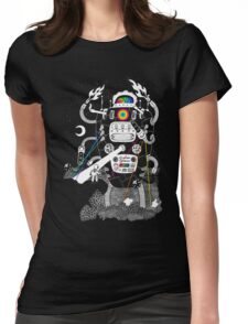 Behold my Wrench, Destructron! Womens Fitted T-Shirt