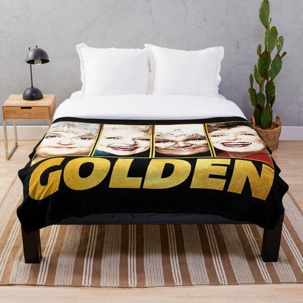 Golden Throw Blanket