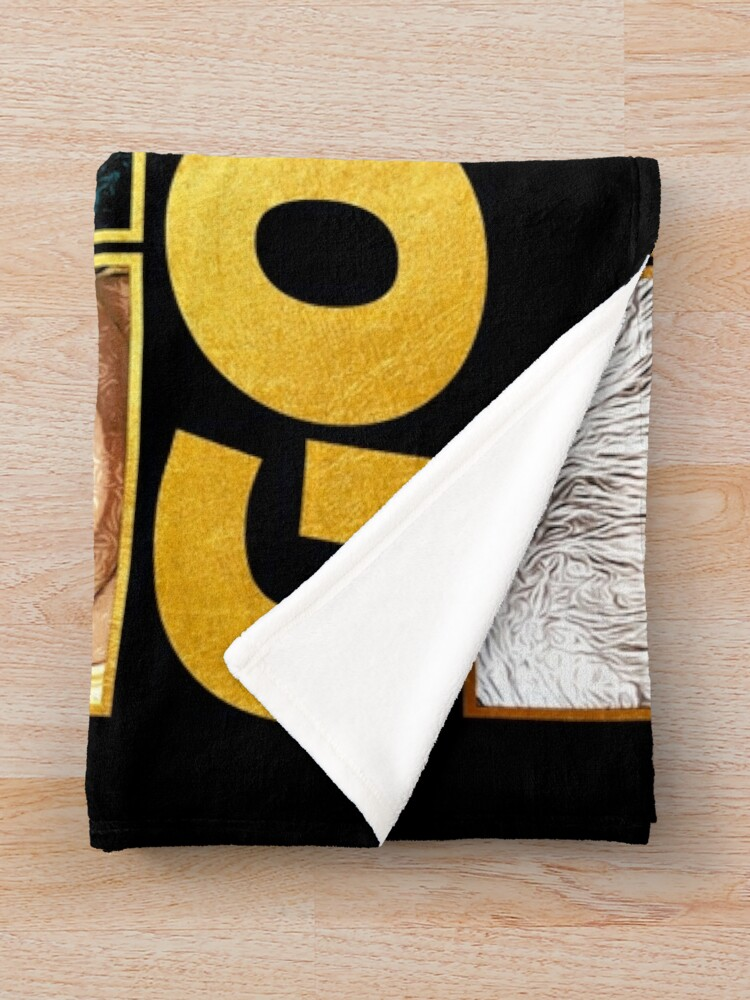 Alternate view of Golden Throw Blanket