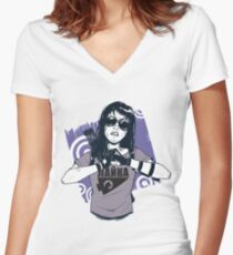 Kate Bishop Women's Fitted V-Neck T-Shirt