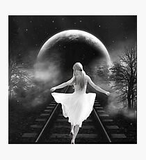 Dancing in the Moonlight.... Photographic Print