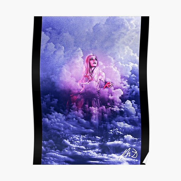 Goddess in the Clouds Poster