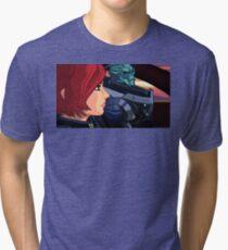 Mass Effect Cartoon - Old Friends Tri-blend T-Shirt