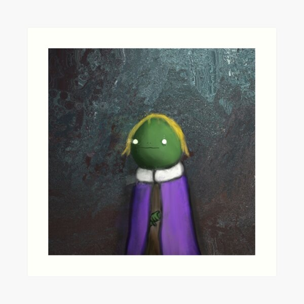 Frog Nobility Art Print