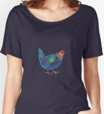 Blue Chicken Women's Relaxed Fit T-Shirt