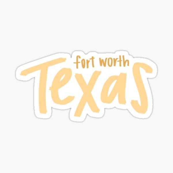 fort worth, texas Sticker