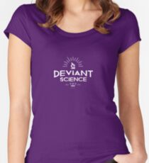 DEVIANT SCIENCE Women's Fitted Scoop T-Shirt