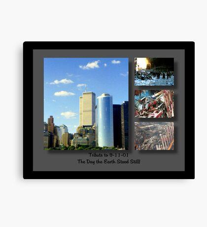 9-11 Tribute ©  Canvas Print