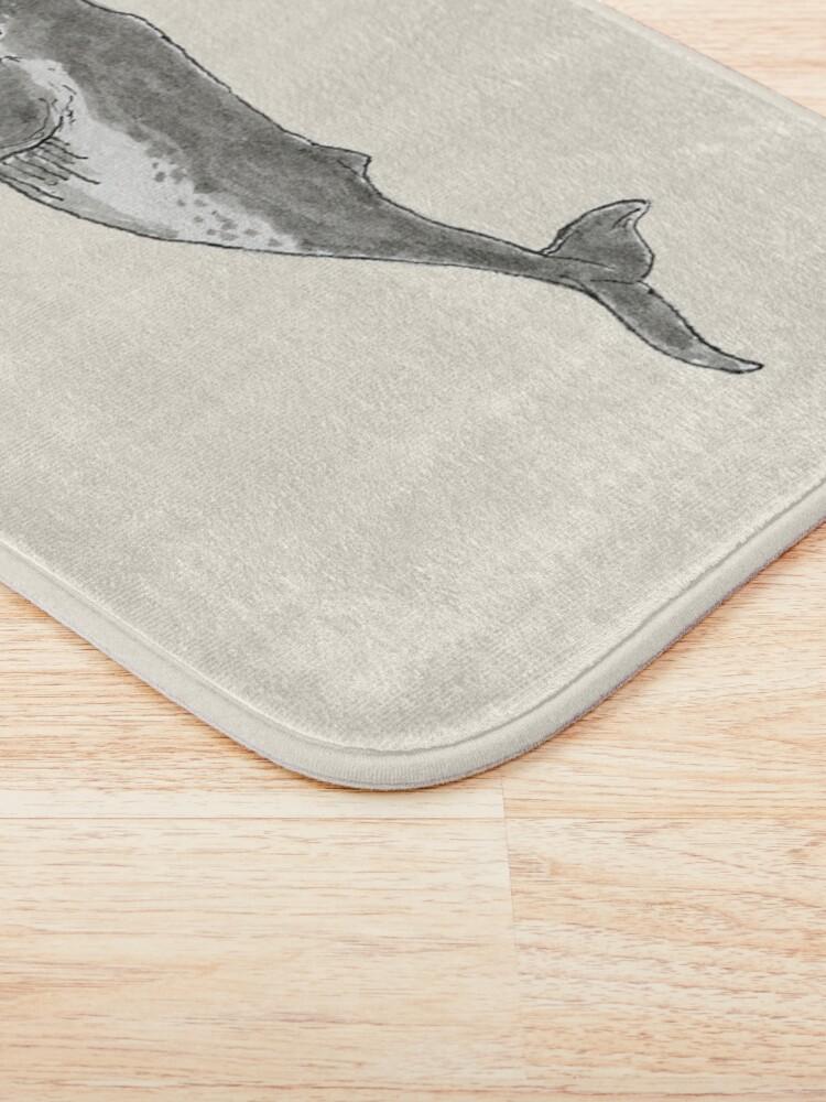 Alternate view of Humpback Whale Bath Mat