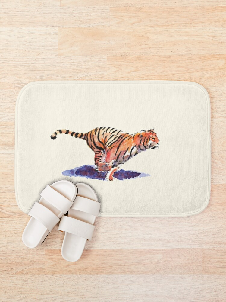 Alternate view of The Tiger Bath Mat