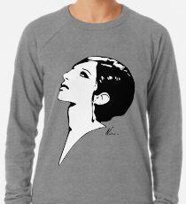 Barbra Streisand   Pop Art Lightweight Sweatshirt