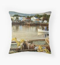 Scenes from Eastern Passage Throw Pillow