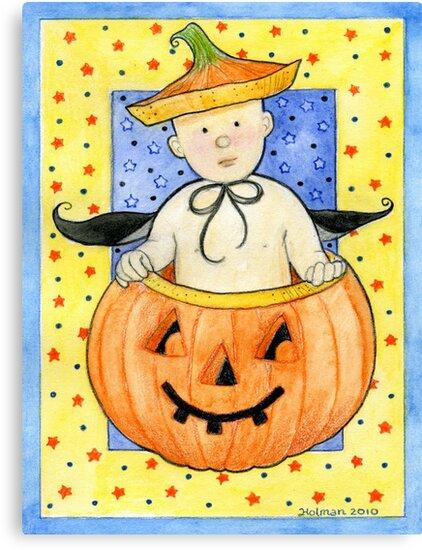 Pumpkin Baby by Laura J. Holman