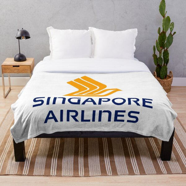 Singapore Airlines Logo Throw Blanket