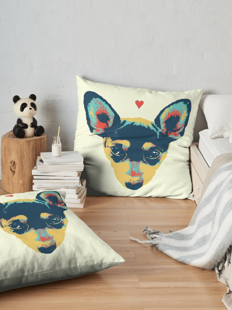 Alternate view of Pet Thoughts - Love Floor Pillow