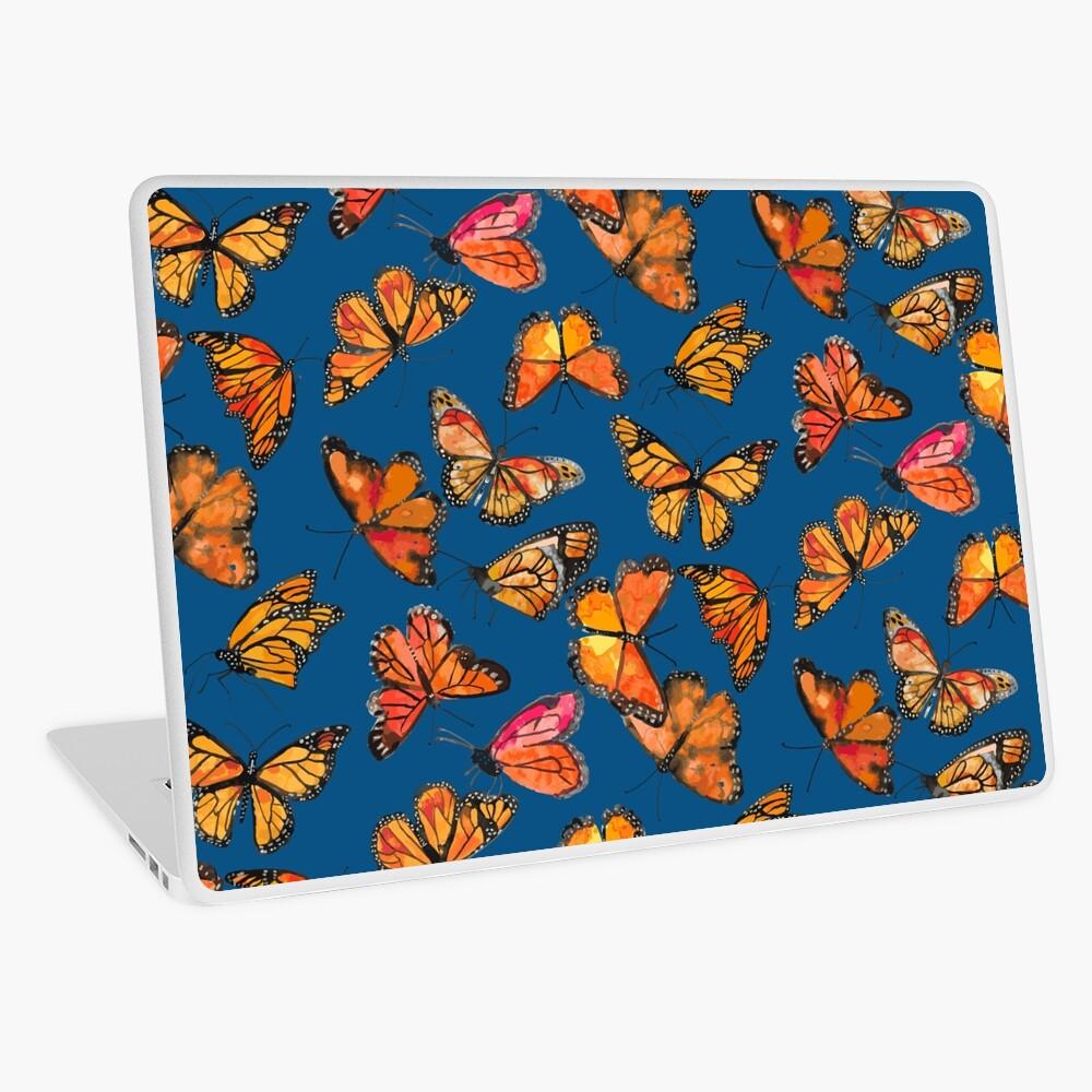 Monarch Butterflies Fly Laptop Skin