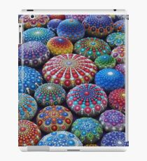 Jewel Drop Mandala Stone Collection #2 iPad Case/Skin