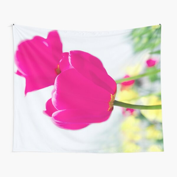 Hot Pink Prelude Tapestry