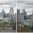A Cloudy Minneapolis Skyline by Nanagahma