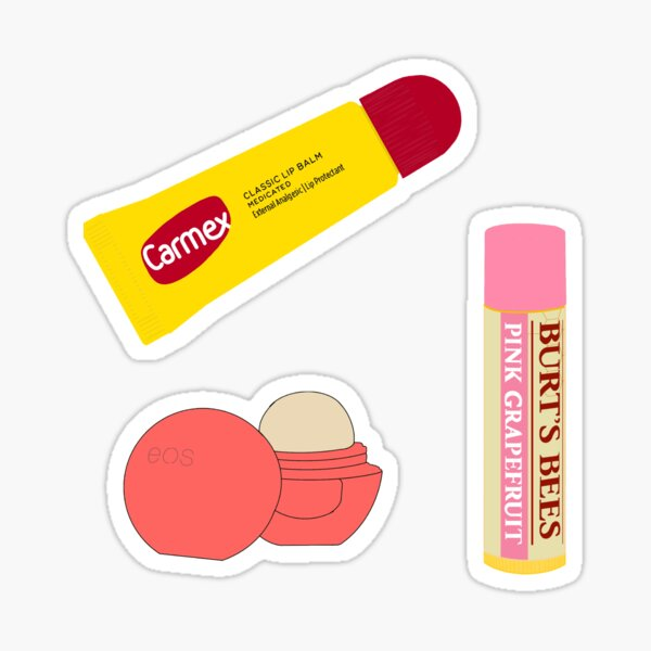 Chapstick pack Sticker