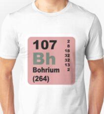 Bohrium Periodic Table of Elements T-Shirt