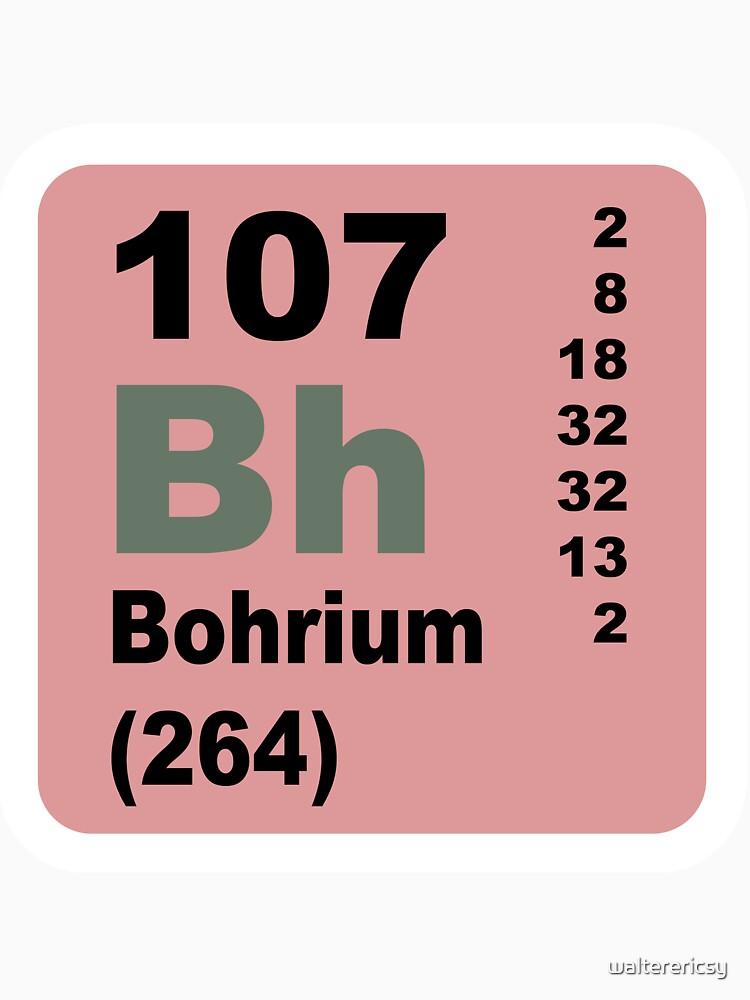 Camisetas anchas para mujer bohrium tabla peridica de elementos bohrium tabla peridica de elementos urtaz Images