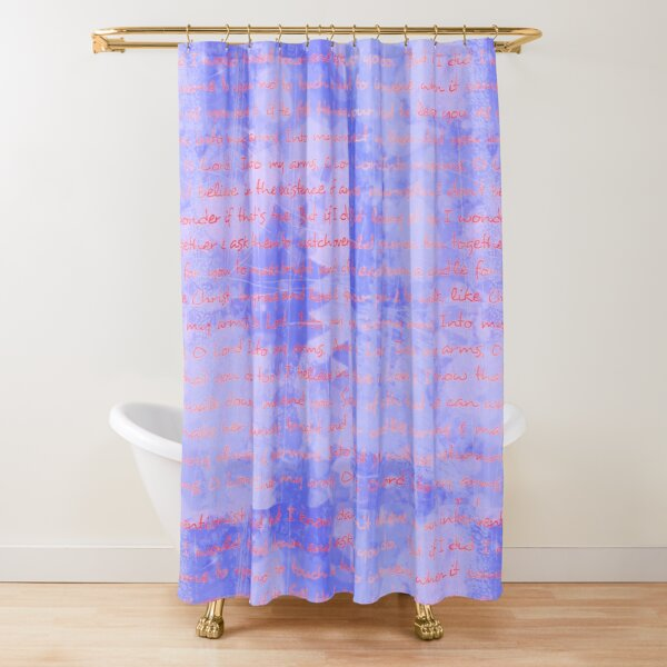 Into my arms Shower Curtain