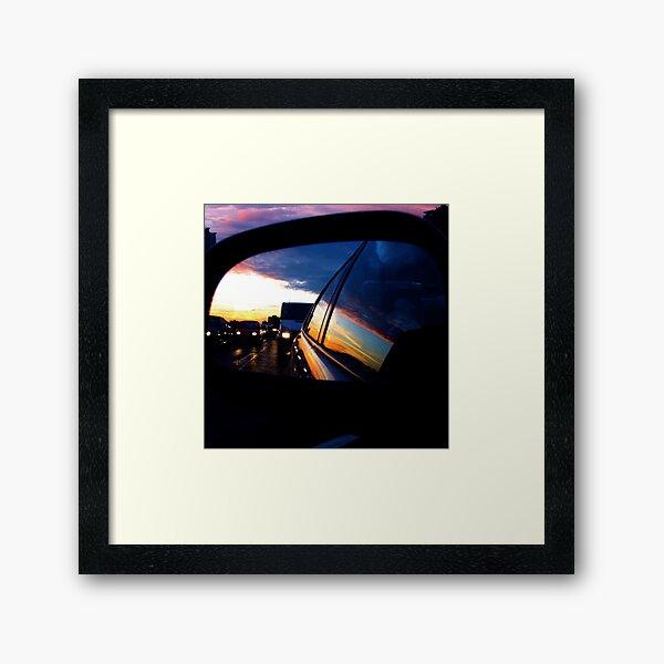 Looking Back... Framed Art Print