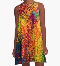 Josephs Kittelbäume A-Linien Kleid