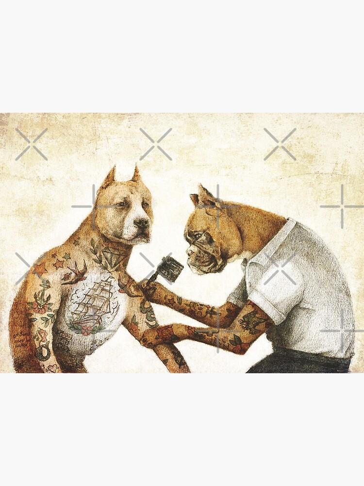 The Tattooist by mikekoubou